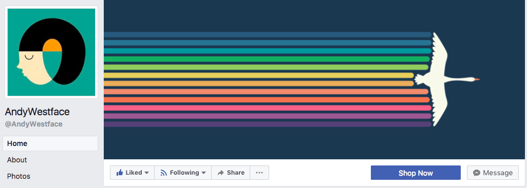 A Simple And Minimalist Facebook Cover Photo Design Goes A Long Way   As  Evidenced