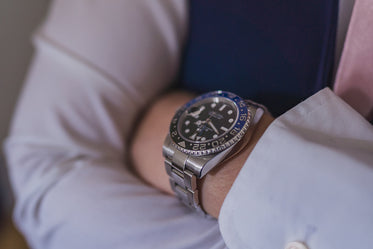 a close up of luxury watch