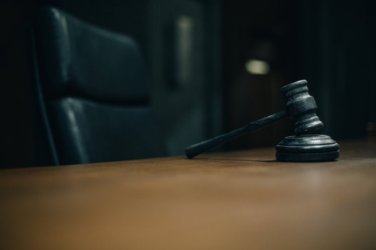 A Gavel Waiting To Be Struck