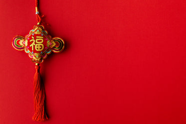 a single ornament for chinese new year