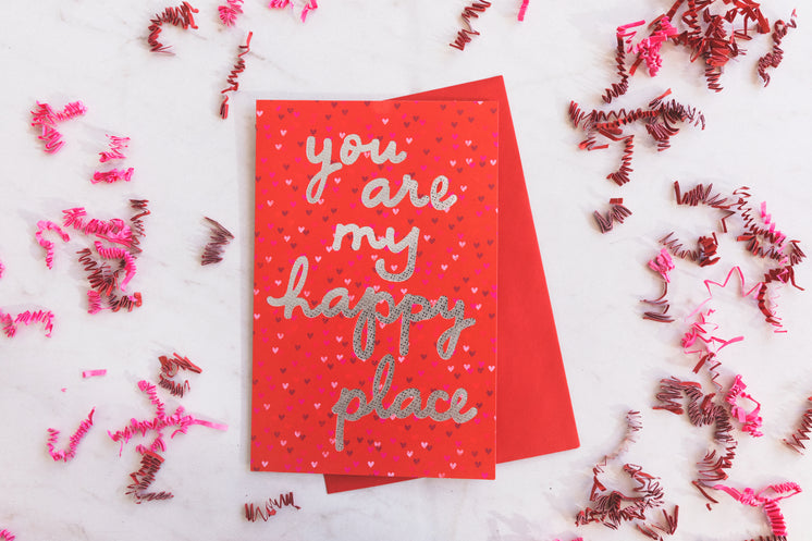 A Valentine's Day Card With A Cheerful Message