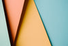 abstract background of four colored triangles