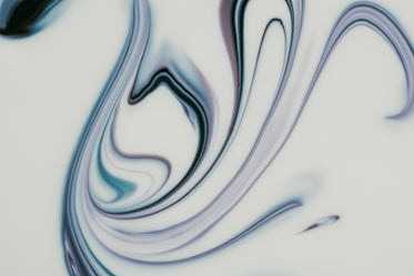 abstract image of blue white marbling