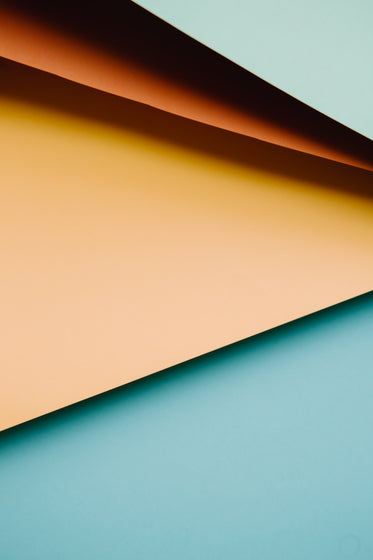 abstract image of colored paper creating horizontal lines