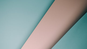 abstract image of paper in pink and blue stripes