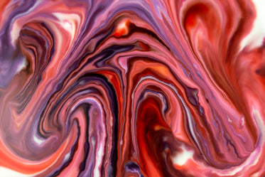 abstract marbled colors in pink and purple