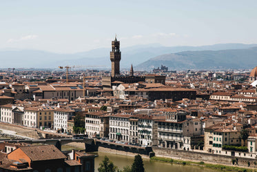 an italian cityscape in florence