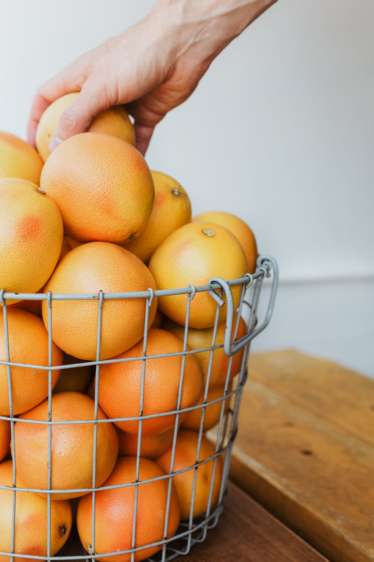 An Orange Basket