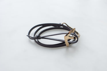 Picture of Anchor Bracelet Leather - Free Stock Photo