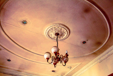 Free Antique Ceiling Light Photo — High Res Pictures