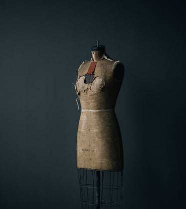 antique dress form