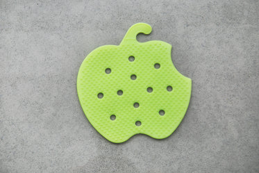 apple shape fruit scrubber