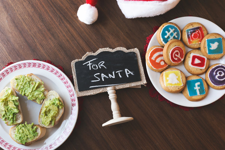 Avocado on Toast and Cookies for Santa