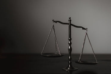 balance scale tilted right
