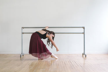 ballet dancer at barre