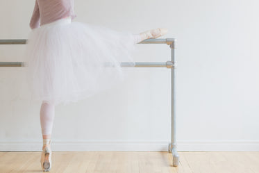 ballet on pointe and at barre