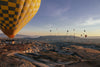 balloon ride with a view