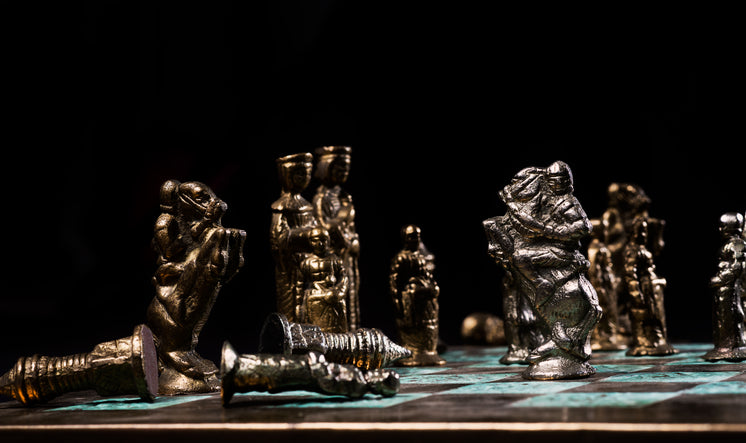 Battling Knights On A Chess Board