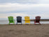 Free Beach Chairs Seaside Photo — High Res Pictures