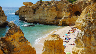 Picture of Beautiful Beach In Portugal - Free Stock Photo
