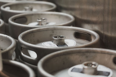 Picture of Beer Kegs — Free Stock Photo