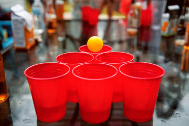 beer pong points