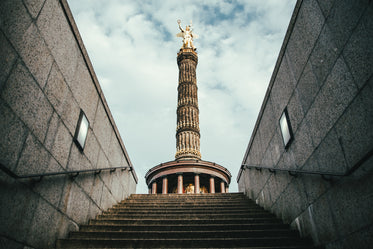 berlin victory column up stair