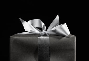 Free Stock Photo of Black And White Gift Box — HD Images