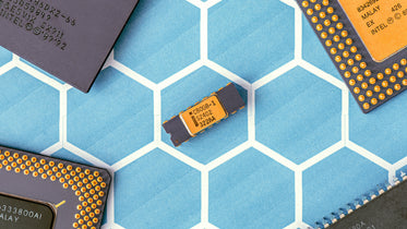 Browse Free HD Images of Black And Yellow Electronic Chip