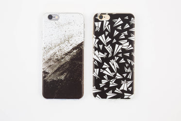 black and white iphone cases
