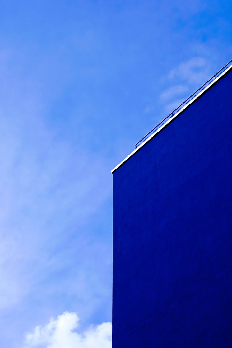 Blue Sky And Building