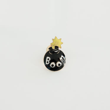 bomb lapel pin product photo