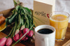 breakfast and flowers for mothers day
