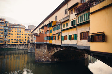 bridges over florence water