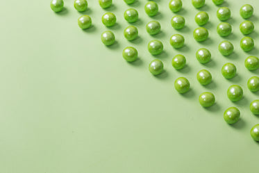 bright green gumball candy background