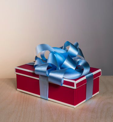 brightly colored gift box