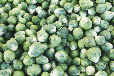 brussel sprouts pile
