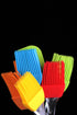 Browse Free HD Images of Bunch Of Colorful Silicone Kitchen Tools