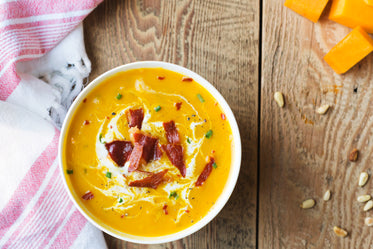 butternut and bacon soup
