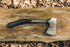 High Res Camping Hatchet On Wood Picture — Free Images