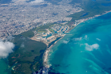 Picture of cancun mexico arial view — Free Stock Photo