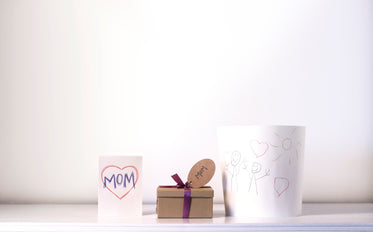 card gift and art for mom