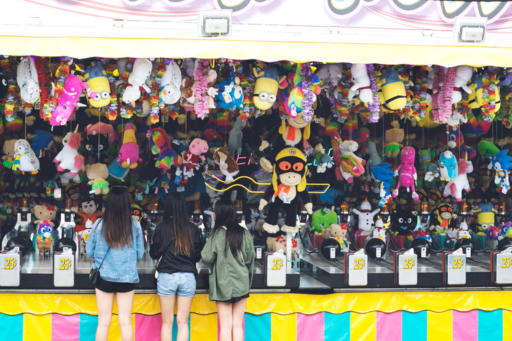 Carnival Game With Hanging Prizes