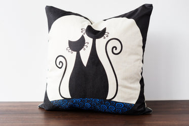 cats decorative pillow