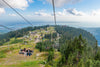 chairlift to mountian top near vancouver