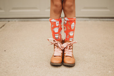 childs shoes and socks