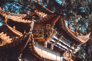 chinese temple details