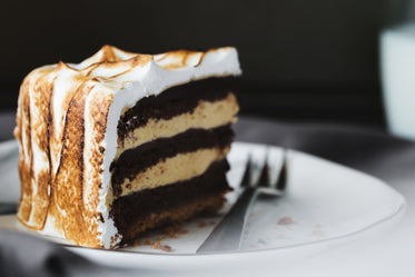 Picture of Chocolate Marshmallow Cake — Free Stock Photo