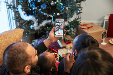christmas morning video chat