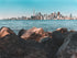City Of Toronto From Rocky Shore